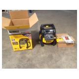 Dewalt FLEXVOLT 2.5 Gal. 60-Volt MAX Brushless Cordless Electric Air Compressor Kit with Battery 2 Ah and Charger customer vreturn see pictures