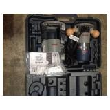 Bosch 12 Amp 2-1/4 in. Corded Peak Variable Speed Plunge and Fixed Base Router Kit with Hard Case customer Return see pictures