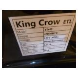 NEW King Crow Forced Air Heater