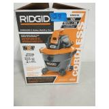 RIDGID 9 Gal. 18-Volt Cordless Wet/Dry Shop Vacuum (Tool Only) with Filter, Hose and Accessories