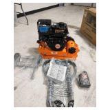 YARDMAX 2500 lb. Compaction Force Plate Compactor 6.5HP/196cc