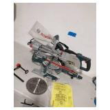 BOSH 12 Amp 8-1/2 in. Corded Portable Single Bevel Sliding Compound Miter Saw with 48-Tooth Carbide Blade