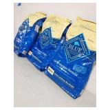 3  BAGS OF 30 LBS EACH OF Blue Buffalo Life Protection Formula Adult Chicken & Brown Rice Recipe Dry Dog Food