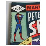 PETER PARKER, THE SPECTACULAR SPIDERMAN