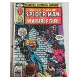 MARVEL TEAM UP FEATURING SPIDER-MAN