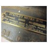 VINTAGE STANLEY MITRE BOX