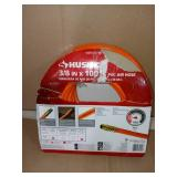 3/8 in. x 100 ft. PVC Air Hose by Husky- packaging slightly damaged, not used -SEE PICTURES