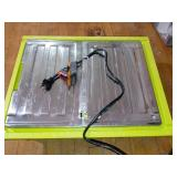 0.75 HP 7 in. 4.8 Amp Tabletop Tile Saw by RYOBI- used -SEE PICTURES