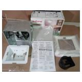 80 CFM Ceiling Bathroom Exhaust Fan with Light by Broan-NuTone- slightly used -SEE PICTURES