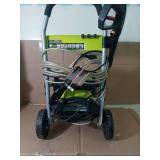 2,000 PSI 1.2 GPM Electric Pressure Washer by RYOBI- slightly used -SEE PICTURES