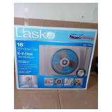 16 in. Window Fan with EZ-Dial Ventilation by Lasko- open box not used -SEE PICTURES