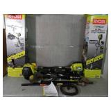 4-Cycle 30cc Attachment Capable Straight Shaft Gas Trimmer by RYOBI- slightly used set of 2 -SEE PICTURES