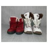 Womens boots- size 8-8.5 - used -SEE PICTURES