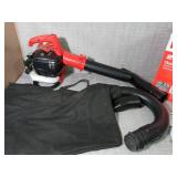 150 MPH 400 CFM 26cc Gas Handheld Blower Vacuum by Homelite- slightly used  -SEE PICTURES