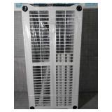 Gray 5-Tier Plastic Garage Storage Shelving Unit (36 in. W x 72 in. H x 18 in. D) by HDX- open box not used -SEE PICTURES