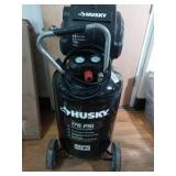30 Gal. 175 PSI High Performance Oil Free Portable Electric Air Compressor by Husky- not used- no packaging -SEE PICTURES