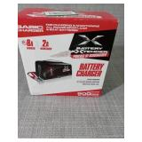 Battery Extender 8 Amp Battery Charger/Maintainer by Schumacher - open box not used -SEE PICTURES