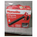 150 MPH 400 CFM 2-Cycle Handheld Gas Leaf Blower by Homelite- slightly used -SEE PICTURES