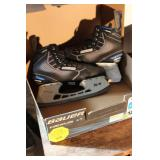 Ice Skates And 3 Skate Boards Lot