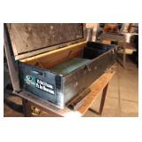 ATV Black Wood Box