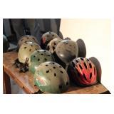 Riding Helmets Lot