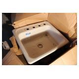 Cast Iron Sink Kohler Brand