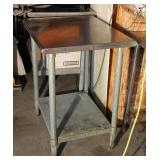 "Stainless Steel Table 30"" W X 24"" Deep X 34"" H"