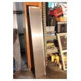 """Stainless Steel Shelf 99"""" Long X 10"""" Deep"""