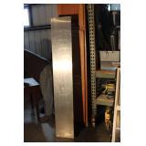 """Stainless Steel Shelf 85"""" Long X 12"""" Deep"""