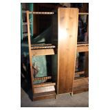 Wood Fishing Pole Rack