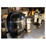 Cordless Phone & Helmet