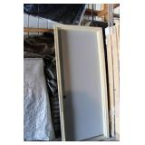 Metal Door And Frame 3 Ft Wide X 6 Ft 8 Inch Long