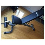 Merax Weight Bench and Exercise Ball