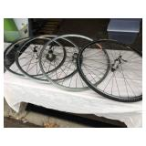 Assorted Bike Wheel Lot