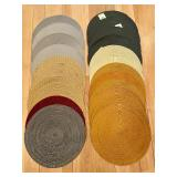Variety of Round Placemats