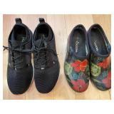 Sloggers Floral Slip On Shoes and Kuru Tennis Shoes