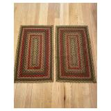 Two Braided Rugs