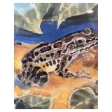 """Stephen C. Harmon """"Southern Leopard Frog"""" Numbered Print"""