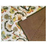 Reversible King Quilt with 4 Pillow Shams