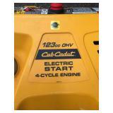 Cub Cadet Electric Start Snow Blower