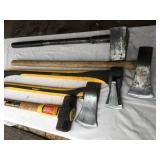 Log Splitter / Sledge Hammer Lot