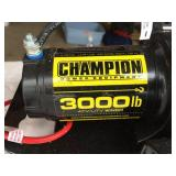 Champion 3000 LB ATV / UTV Winch