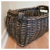 Woven Wooden Basket