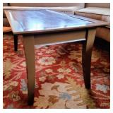 Painted Wood Coffee Table