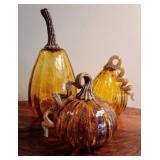 Decorative Glass Gourds