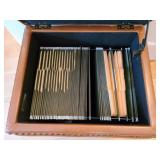 Rolling Leather File Storage