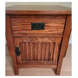 Mission End Table With Drawer by Riley Holliday