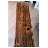 Amazing Primitive Wood Bench