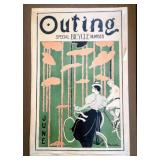 Vintage Advertising Print- Outing Special Bicycle