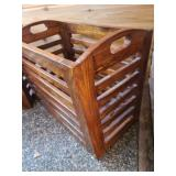 Pair of Wooden Storage Boxes